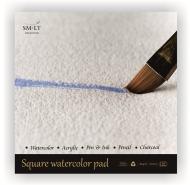 Альбом для акварели SM-LT Art Watercolor 260г/м2 (содержит хлопок) 30*30см 20л склейка по одной стороне