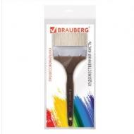 "Кисть флейц №100 Brauberg Art ""Classic"", щетина, короткая ручка"