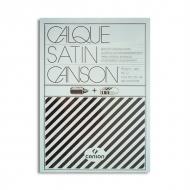 Универсальная калька для рисования и черчения Canson, 90 г/м2, А4, 50 листов, подходит для принтера
