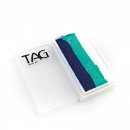 Профессиональный гипоаллергенный аквагрим Сплит-кейк TAG «Рыбка», 30г, 3 цвета