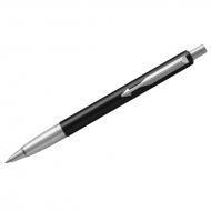 """Ручка шариковая Parker """"Vector Limited Edition Black CT"""" синяя, 1,0мм, кнопочн., подар. уп"""