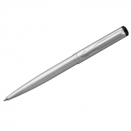 "Ручка шариковая Parker ""Vector Limited Edition Stainless Steel CT"" синяя, 1,0мм, кнопочн., подар. уп"