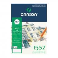 Альбом для графики 1557 Dessin CANSON, 180 г/м2, формат А4, 30 листов, склейка