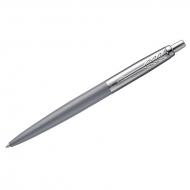 """Ручка шариковая Parker """"Jotter XL Grey CT"""" синяя, 1,0мм, кнопочн., подар. уп"""