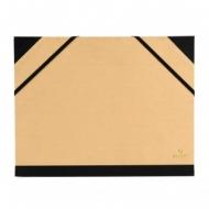 Папка Canson Carton a Dessin Tendance Canson 2 эластичные резинки размер 32*45см коричневый крафт