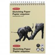 Блокнот для эскизов Derwent Sketch, 165 г/м2, формат А5, 30 листов