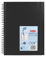 Альбом Sketch & Store Derwent для эскизов А4 Портрет, 165г, 56 листов