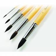 Круглые кисти белка микс Сонет, короткая ручка, №1 -№12