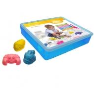 Песочница пластиковая для игры с Живым песком 3 формочки