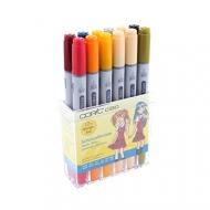"""Набор маркеров для скетчинга Copic Ciao """"School uniforms"""", 12 цветов"""