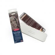 Набор цветных карандашей Derwent Coloursoft Skintones, 6 оттенков кожи