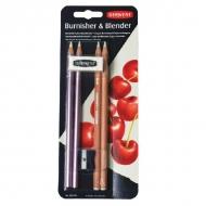 Набор карандашей для растушевки и полировки Derwent Burnisher & Blender, 6 предм.