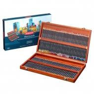 Набор цветных карандашей Derwent Procolour 72 цвета в деревянной шкатулке