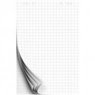 Блокнот для флипчарта OfficeSpace, размер 67,5 на 98 см, 20 л., клетка