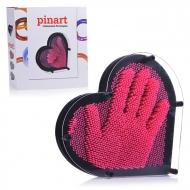 """Экспресс-скульптор """"Pinart"""" Сердце L, розовый, 207-148-6"""