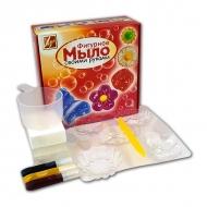 """Творческий набор для изготовления мыла """"Цветы"""" ЛУЧ с формочками"""