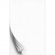 Блокнот для флипчарта OfficeSpace, размер 67,5 на 98 см, 50 л., клетка