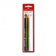 Чернографитные карандаши FABER-CASTELL Goldfaber 3 шт. набор, твердость HB, H, 2B