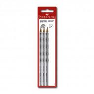 Чернографитные карандаши Faber-Castell в наборе GRIP 2001, твердость HB, H, 2B