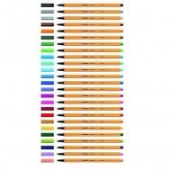 Капиллярная ручка Point 88 Stabilo Fineliner, поштучно