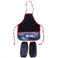 "Фартук с нарукавниками ArtSpace ""Street style"", 39*49см, 2 кармана"