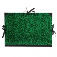 Папка Canson Carton a Dessin Classic Canson на 3 шнурках размер 52*72см Цвет зеленый