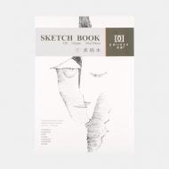 Альбом-склейка Sketch Book POTENTATE, 270х195 мм, 165г/м2, 32 листа