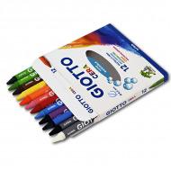 Восковые карандаши GIOTTO Cera FILA для рисования и детского творчества, 12 цветов