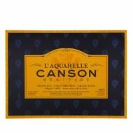 Блок для акварели Canson Heritage 300г/кв.м (хлопок) 46*61см 20листов Фин склейка по 4 сторонам