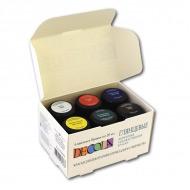 Акриловые глянцевые краски Decola НЕВСКАЯ ПАЛИТРА, набор 6 цветов по 20 мл
