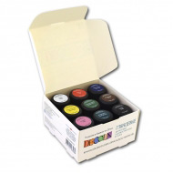 Акриловые глянцевые краски Decola НЕВСКАЯ ПАЛИТРА, набор 9 цветов по 20 мл