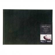 Блокнот для зарисовок Fabriano Sketch Book 110г/м.кв 21x29,7см мелкозернистая 80л (ландшафт), сшивка