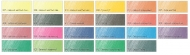 Набор акварельных красок Rembrandt Royal Talens, 24 цвета, кисть, палитра