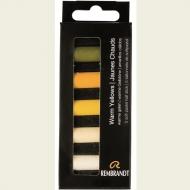 Набор сухой пастели Rembrandt Royal Talens 5цв теплый желтый картон.упак