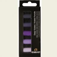 Набор сухой пастели Rembrandt Royal Talens 5цв глубокий фиолетовый картон.упак