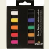 Набор сухой пастели Rembrandt Royal Talens 10цв основные цвета картон.упак