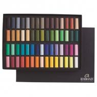 Набор сухой пастели General Rembrandt Royal Talens, 60 основных цветов, мелки-половинки