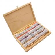 Набор акварели «Белые ночи» Невская Палитра, деревянный пенал, 48 цветов и кисть