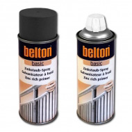 Грунт BELTON Basic обогащенный цинком 99% для металла, аэрозоль, 400 мл