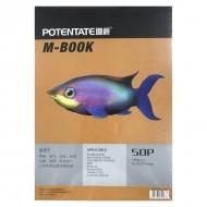 Альбом для скетчей Potentate Bristol Pad 180 г/м2, формат А4, 50 листов