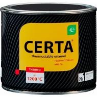 Термостойкая эмаль Certa черная, до 1200°C 10кг