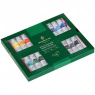 Краски акриловые Greenwich Line, профессиональная серия, 24 цвета, туба 12мл