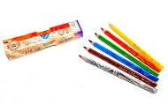 """Карандаши Koh-I-Noor """"Magic"""" с многоцветным грифелем, 6 цветов, утолщенные, заточенные"""