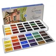 Акварельные краски Сонет Невская Палитра в кюветах, набор 24 цвета