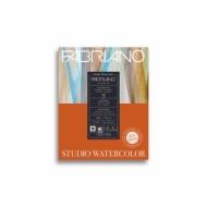 Альбом для акварели Fabriano Watercolour Studio 300г/кв.м (25%хлопок) 20,3x25,4см Сатин 12л склейка по 1 стороне