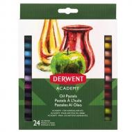 Набор масляной пастели Derwent Academy 24 цвета, в картон.упак