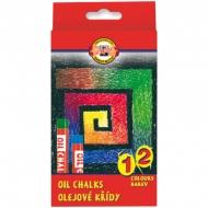 """Пастель масляная Koh-I-Noor """"8312"""", 12цв., картон. упак."""