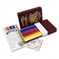 Набор профессиональных цветных карандашей Polycolor KOH-I-NOOR, 24 цв.