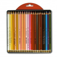 Художественные цветные карандаши «Портрет» Koh-I-Noor POLYCOLOR набор «Portrait», 24 цвета