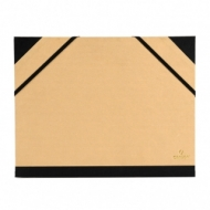 Папка Canson Carton a Dessin Tendance Canson 2 эластичные резинки размер 52*72см коричневый крафт